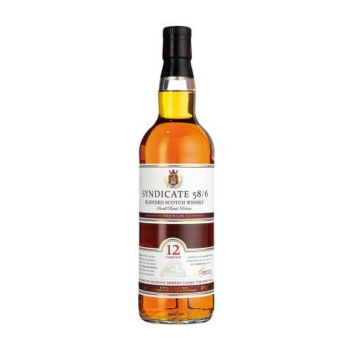 WHISKY SYNDICATE 12Y 0.7L.
