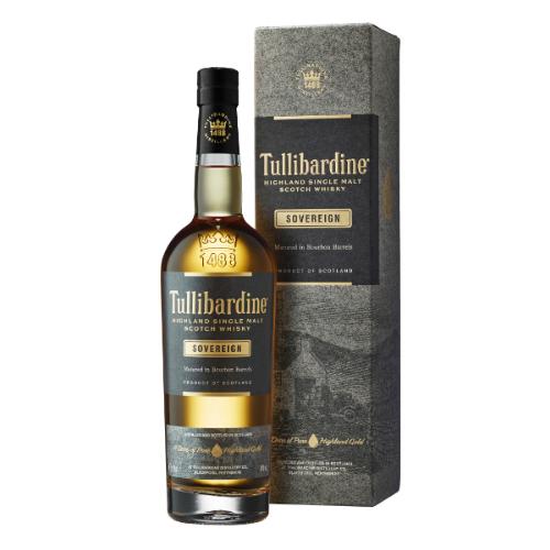 WHISKY TULLIBARDINE SOVEREIGN 0.7L.