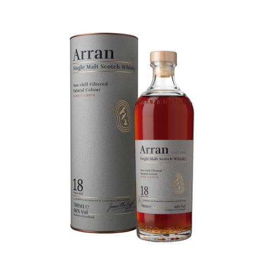 WHISKY ARRAN 18 YO 0.7L.