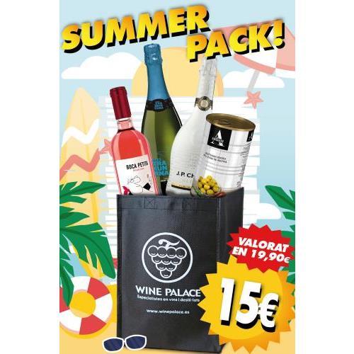 SUMMER PACK - 3 VINOS+ 1 CAVA 0.75L.
