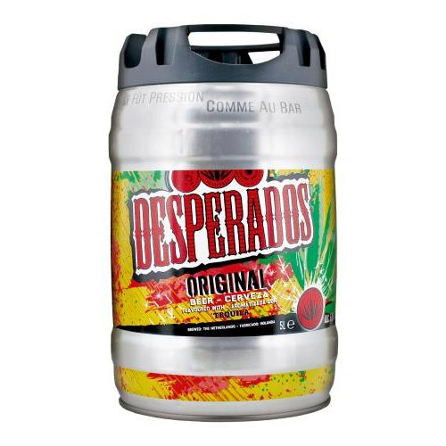 Winepalace Cerveza Desperados Barril 5l 5l