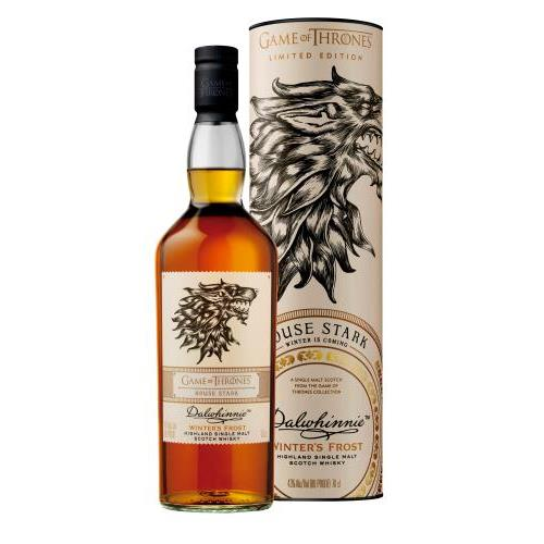 WHISKY DALWHINNIE - GAME OF THRONES 0.7L.